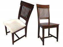 Krzesło z drewna Bolero