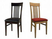 Drewniane krzesła dębowe
