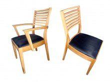 Drewniane fotele Fogo