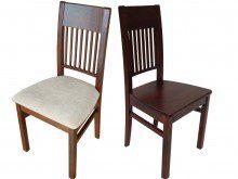 Krzesło z litego drewna Samba