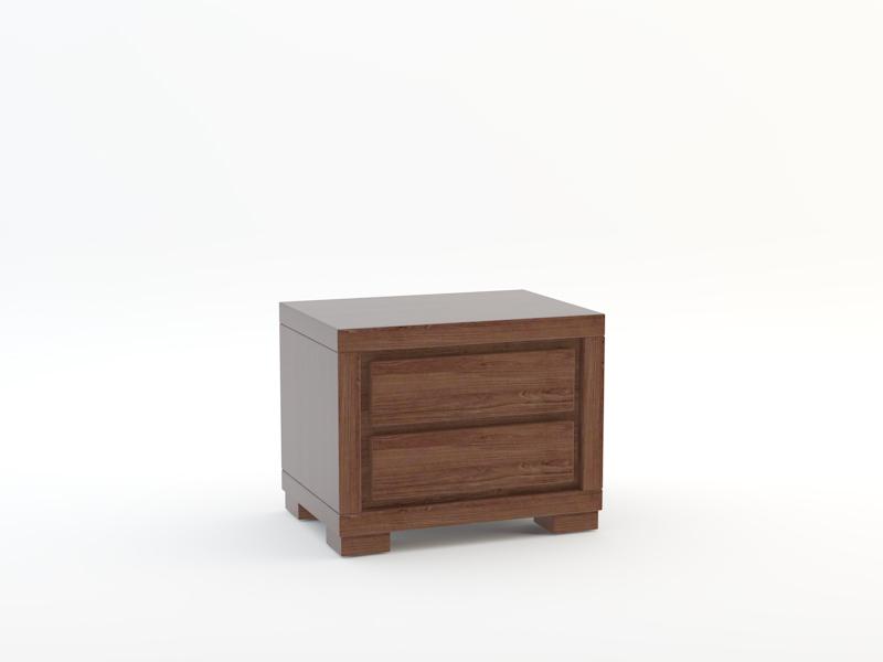 Nakastlik z litego drewna