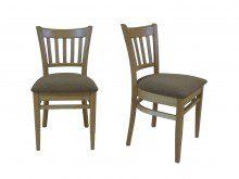 Krzesło z drewna litego Buggel