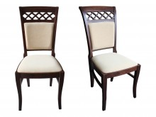 Krzesła drewniane bukowe