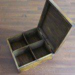 pudełko z drewna