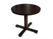 Stół okrągły – noga drewniana