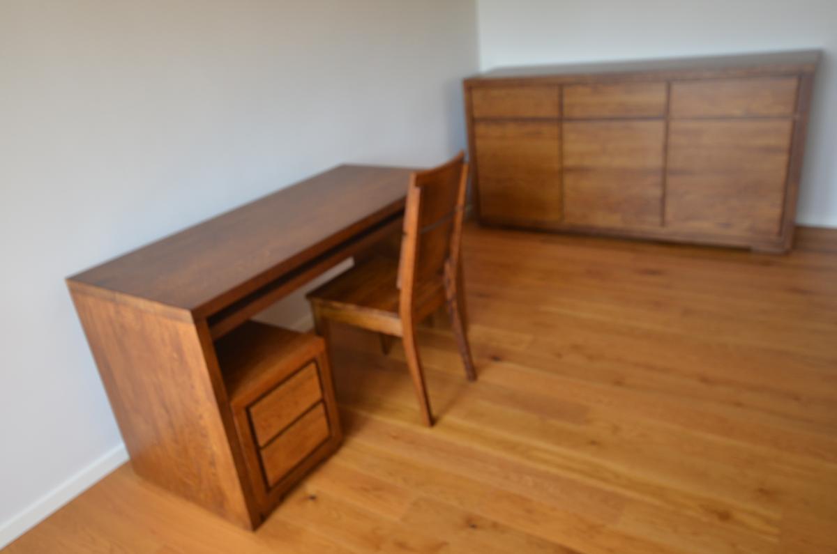 biurko i komoda Almera dąb
