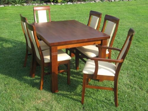 stół z drewna bukowego