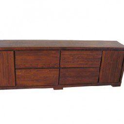 komoda z drewna bukowego