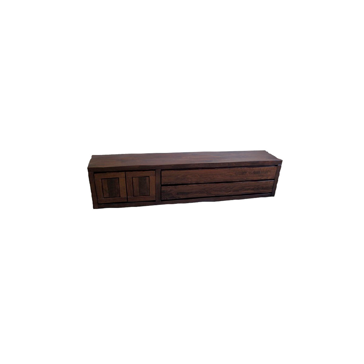 komoda bukowa drewniana RTV