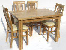 Stół dębowy S3 (blat 4 cm)