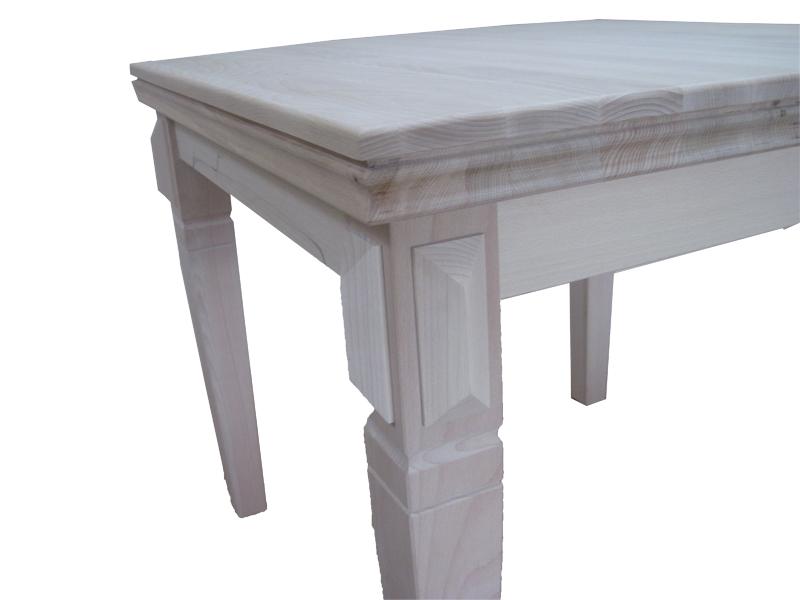 stół z litego drewna