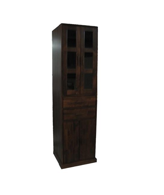 witryna z litego drewna