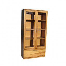 witryna z drewna bukowego