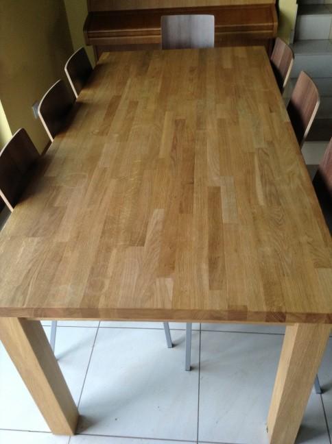 stół dębowy kuchenny
