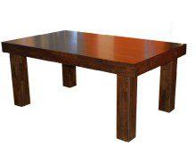 Stół z grubym blatem