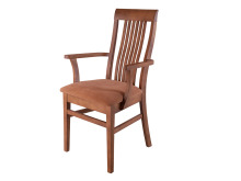 Fotel dębowy Takuna
