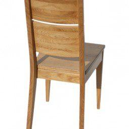 krzesła z litego drewna