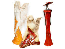 Aniołki ceramiczne