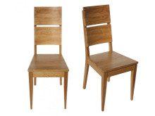 Krzesła drewniane dębowe Spring K-2