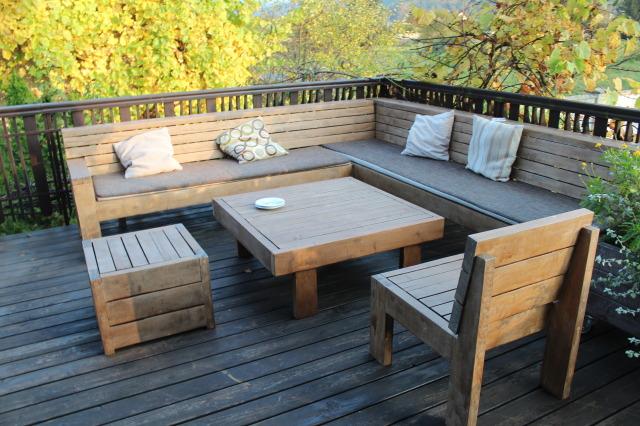 Meble Do Ogrodu Drewniane Szafy ławki I Stoły Ogrodowe