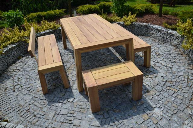 Inne rodzaje Meble ogrodowe i tarasowe drewniane - Producent Edar AC73