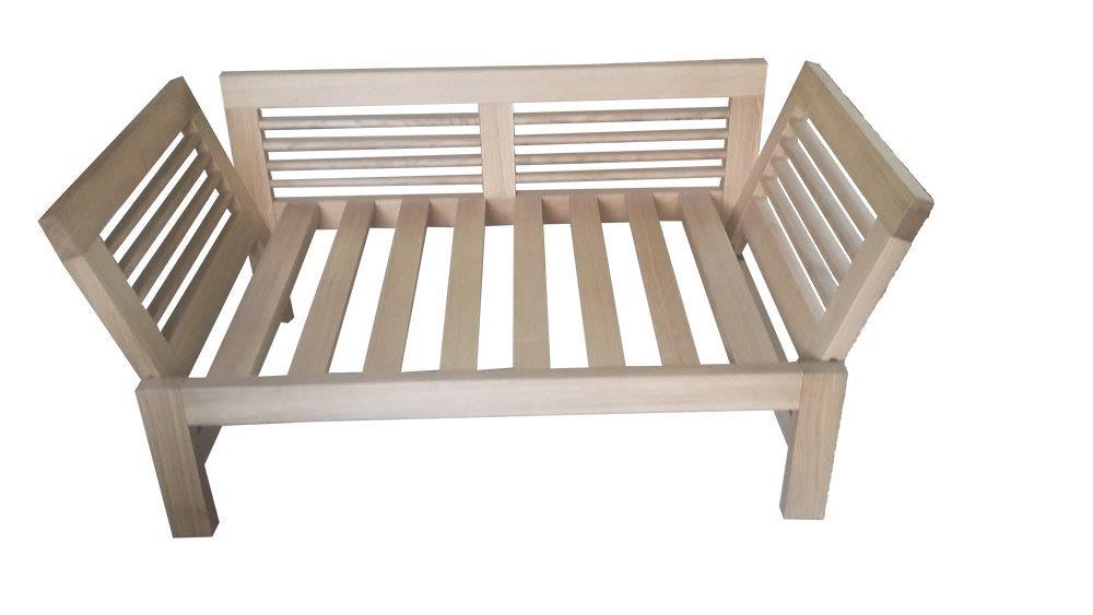 sofa drewniana