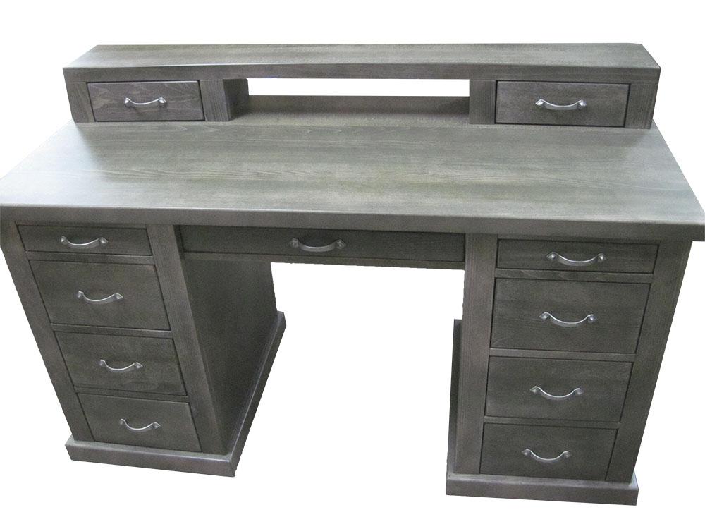 biurko drewniane bukowe