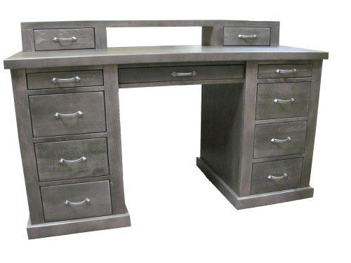 biurka z drewna