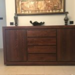 duża komoda z drewna bukowego 4szuflady