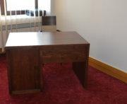 Biurko bukowe elegancki tył biurka