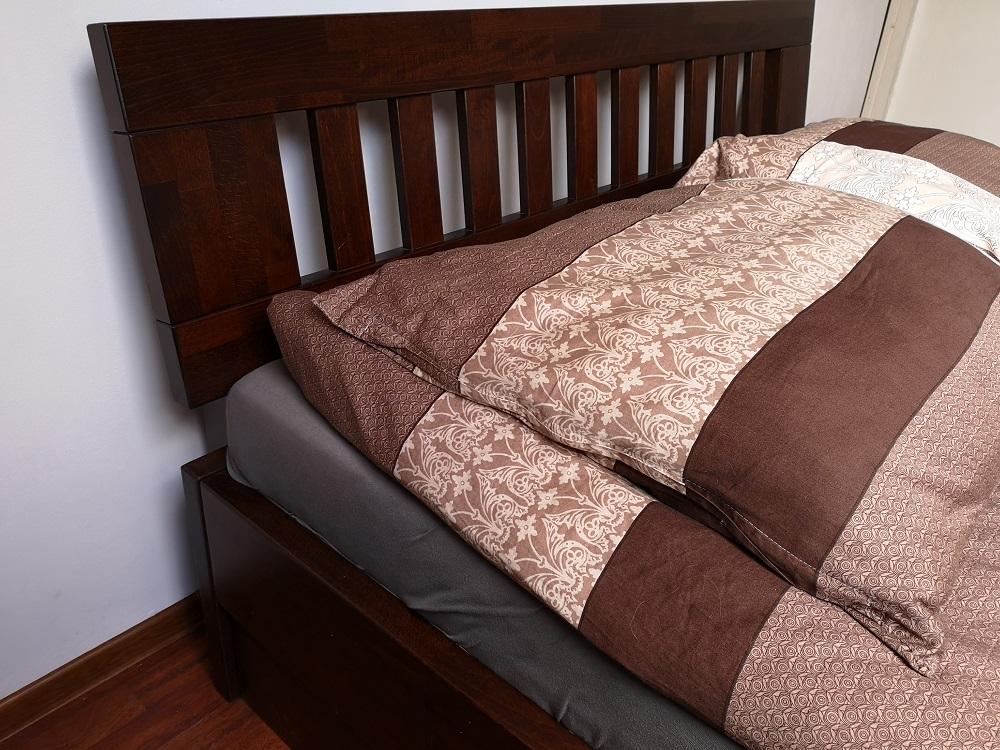 Łóżko bukowe LK1 zagłówek F