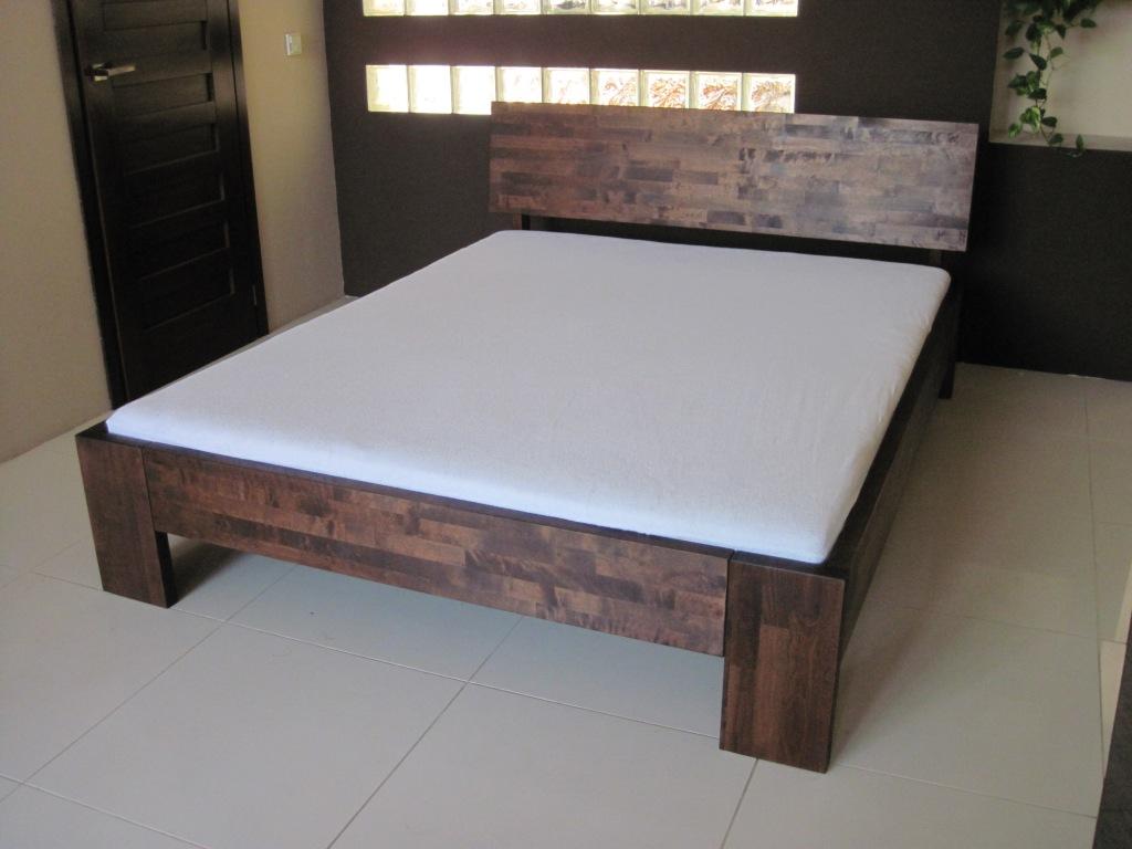 łóżko Lk 1 Zagłówek B Producent łóżek Z Drewna Edar