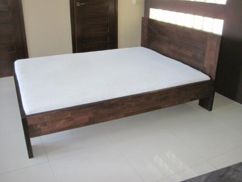 bukowe łóżko drewniane kolor LA