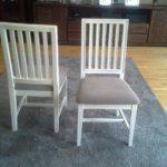 krzesło białe