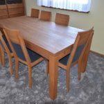 stół dębowy S5 krzesła Spring