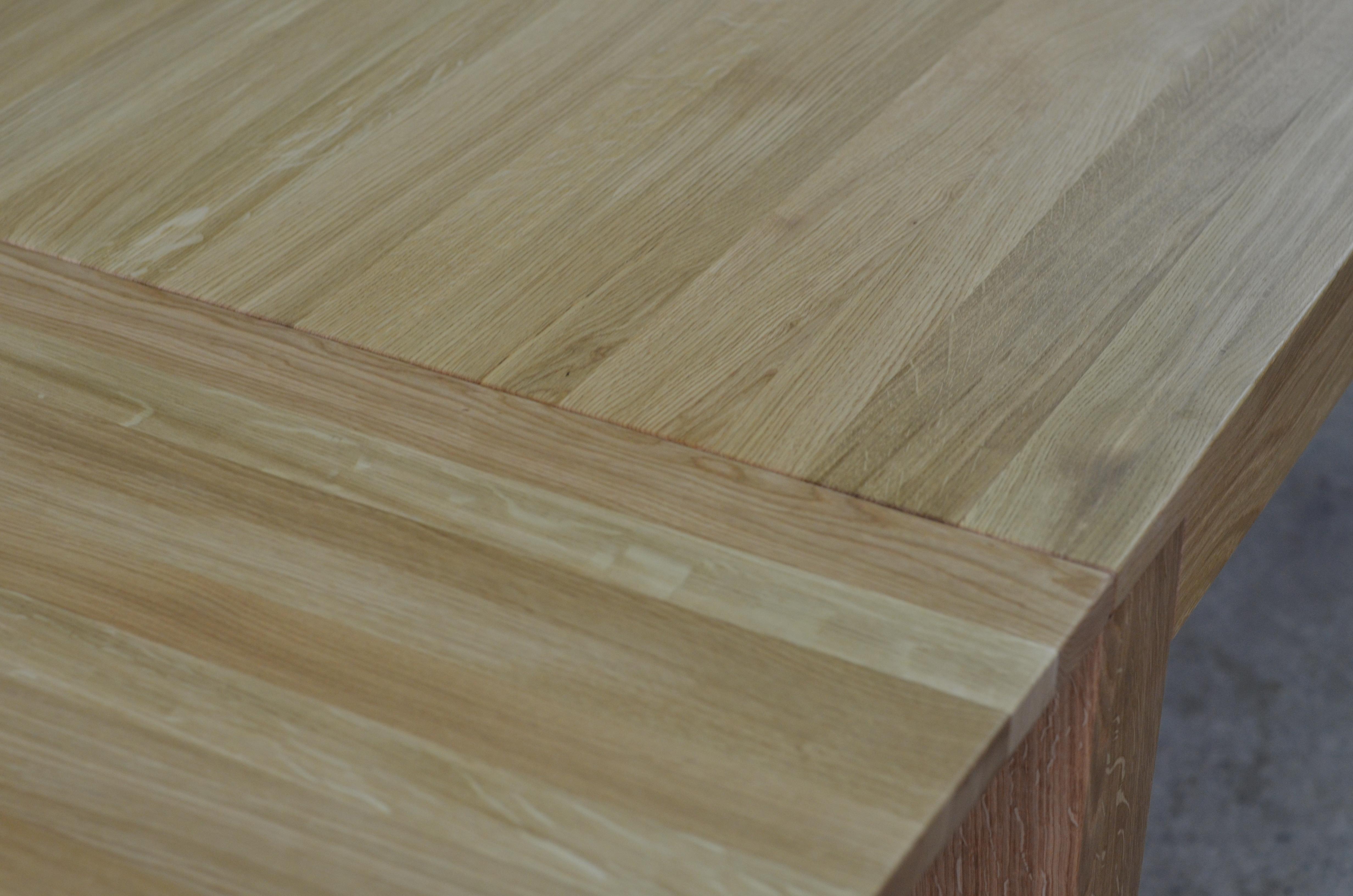 stół lite drewno dębowe