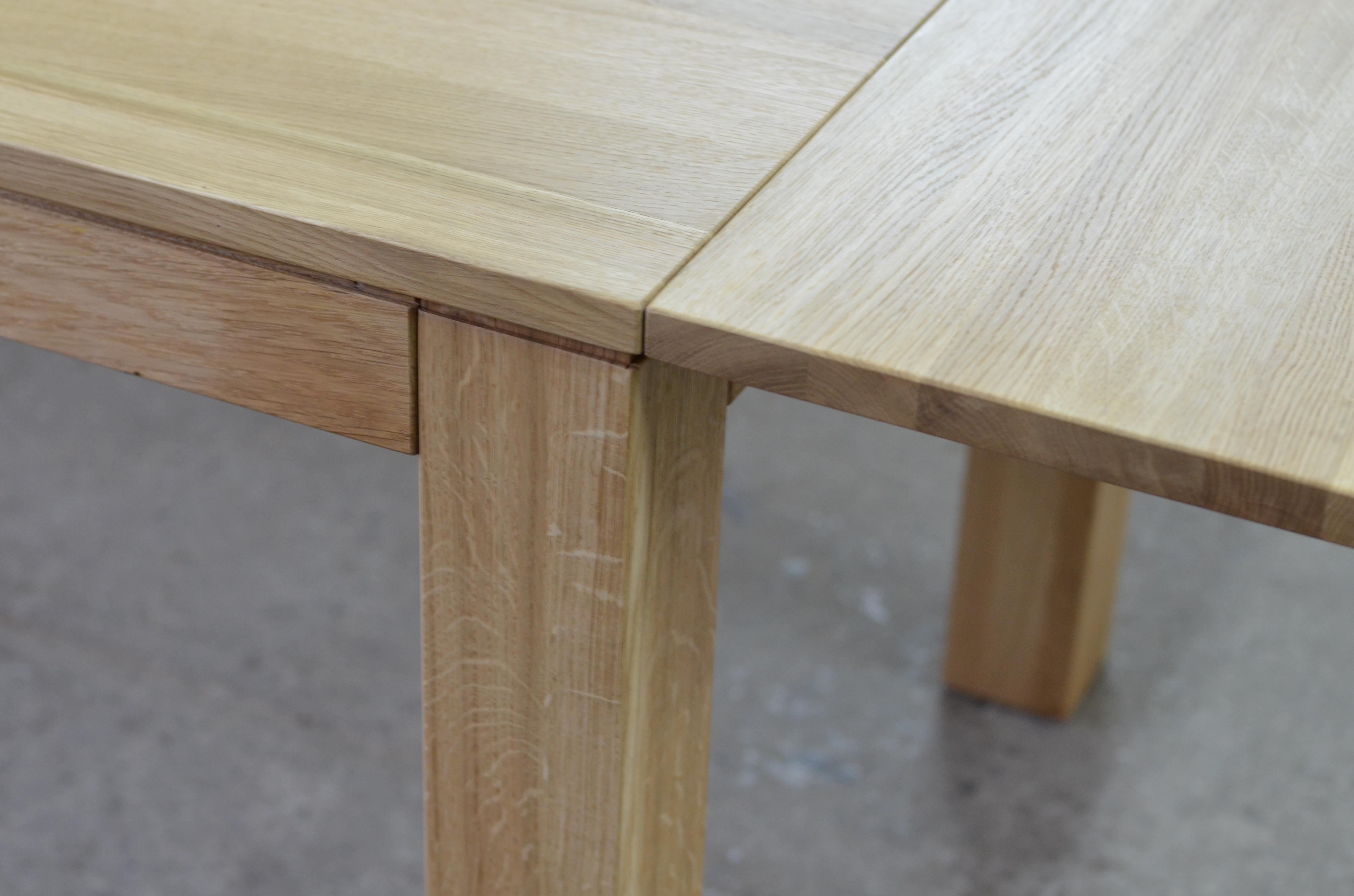 stół s-5 dębowy rozkładany