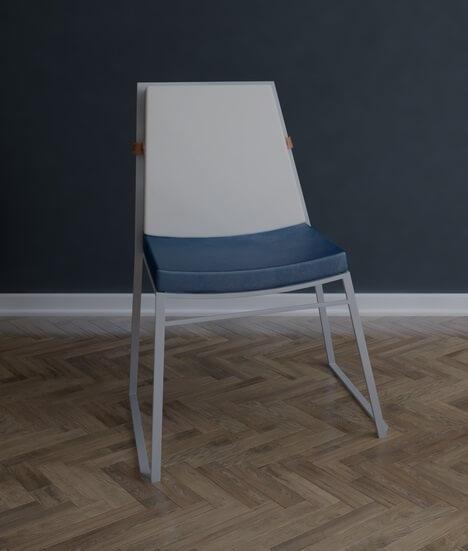 krzesło ogrodowe sztapolwane Marcini