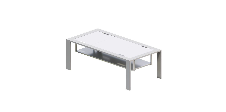 stolik kawowy aluminiowy ogrodowy