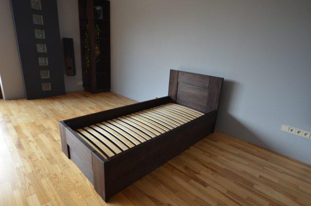 łóżko LK6 skrzynia i stelaż podnoszony BUK kolor LA