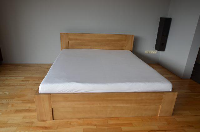 łóżko bukowe KL6 kolor cherry