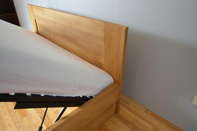 łóżko skrzynia i stelaż podnoszony Buk cherry
