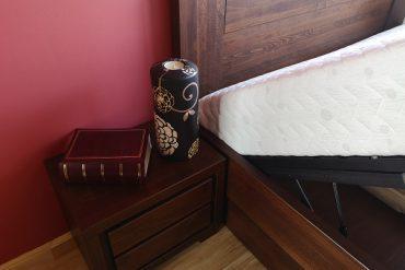 łóżko stelaż podnoszony i skrzynia