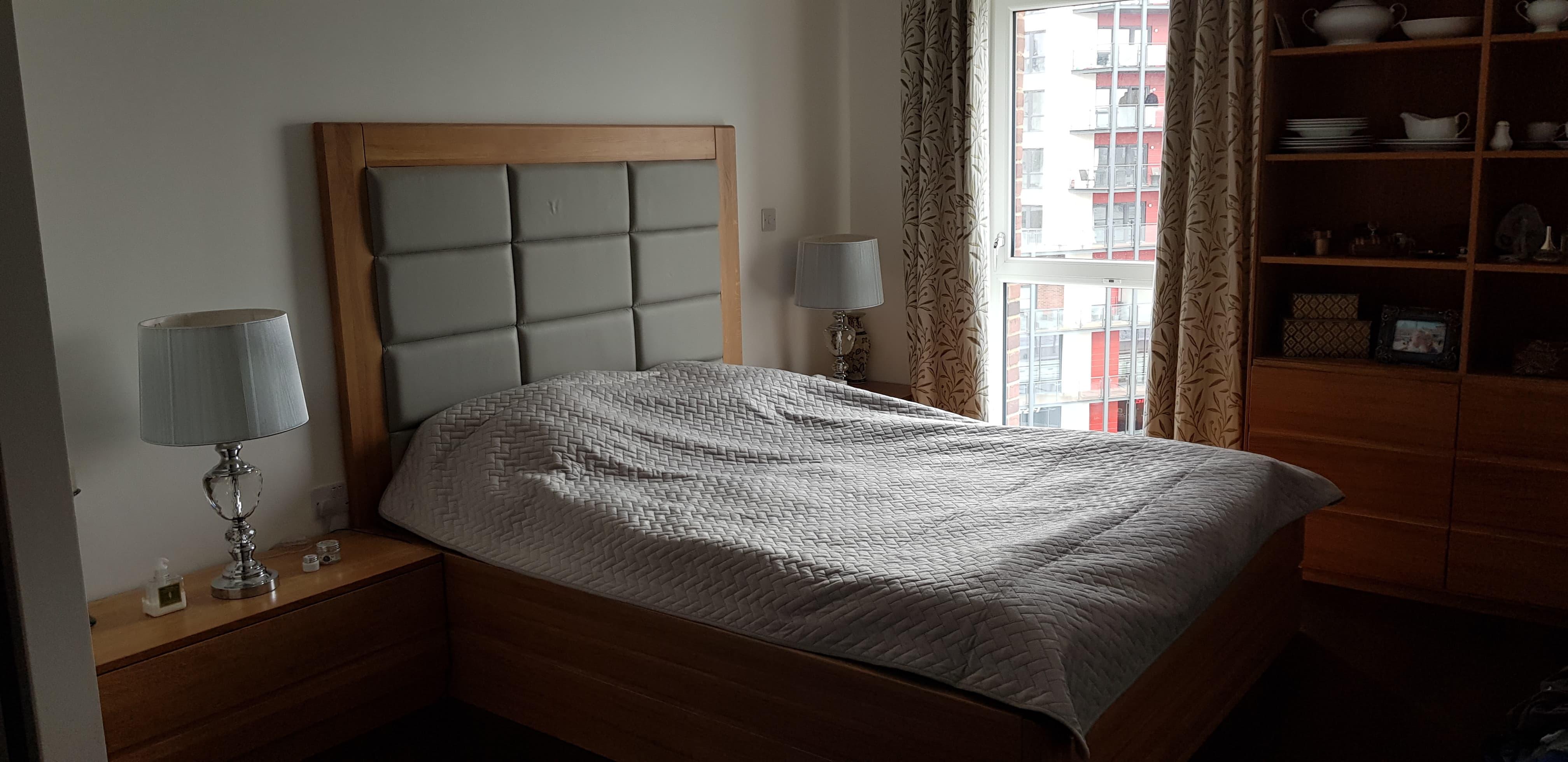 Sypialnia dębowa kolor naturalny