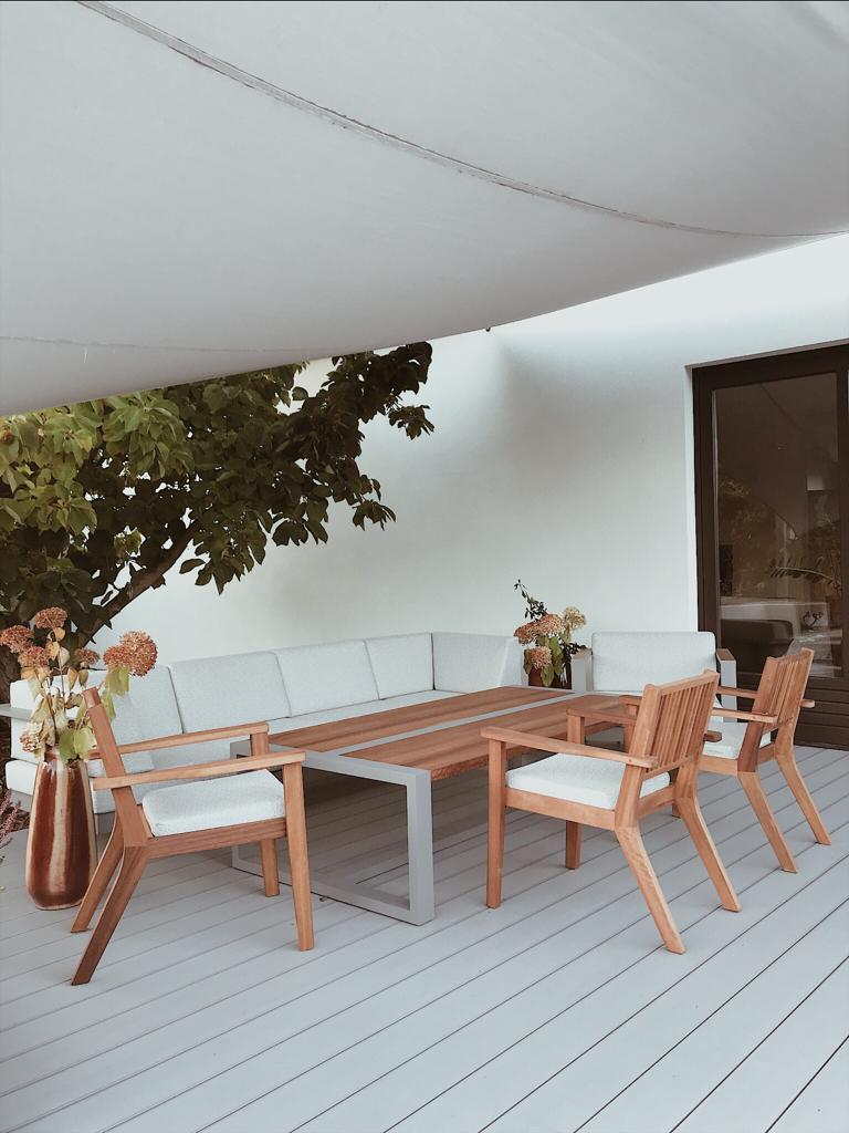 meble ogrodowe z aluminium